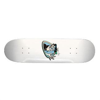 Mr Martini retro hipster Skate Board Decks