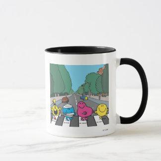 Mr. Men Abbey Road Walkers Mug