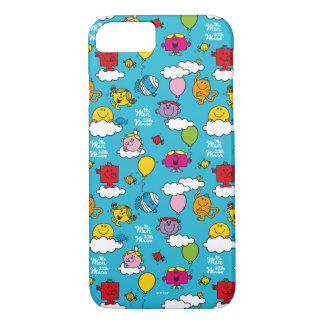 Mr Men & Little Miss | Birds & Balloons In The Sky iPhone 8/7 Case