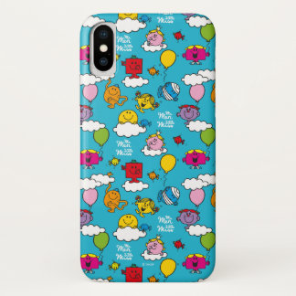 Mr Men & Little Miss | Birds & Balloons In The Sky iPhone X Case