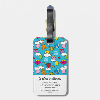 Mr Men & Little Miss | Birds & Balloons In The Sky Luggage Tag
