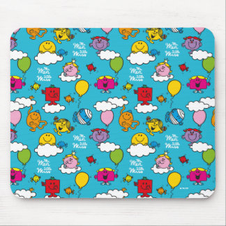 Mr Men & Little Miss | Birds & Balloons In The Sky Mouse Pad