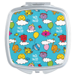 Mr Men & Little Miss | Birds & Balloons In The Sky Vanity Mirror