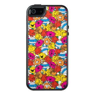 Mr Men & Little Miss | Bright Smiling Faces OtterBox iPhone 5/5s/SE Case