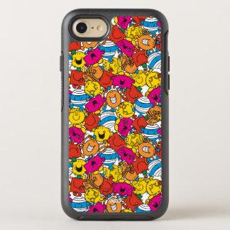 Mr Men & Little Miss | Bright Smiling Faces OtterBox Symmetry iPhone 8/7 Case