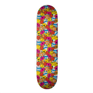 Mr Men & Little Miss | Bright Smiling Faces Skateboard Deck