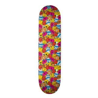 Mr Men & Little Miss | Bright Smiling Faces Skateboard Decks