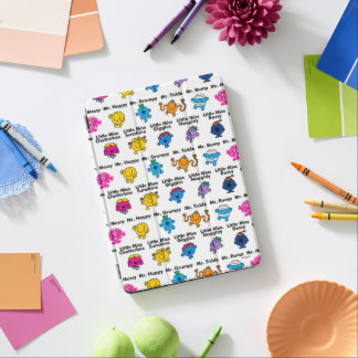 Mr Men & Little Miss | Character Names iPad Air Cover