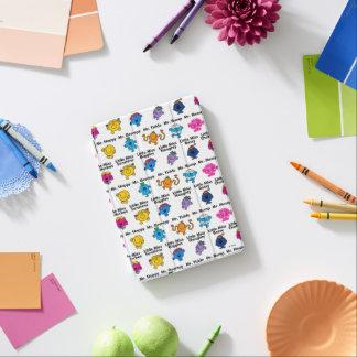 Mr Men & Little Miss   Character Names iPad Mini Cover