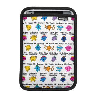 Mr Men & Little Miss | Character Names iPad Mini Sleeve