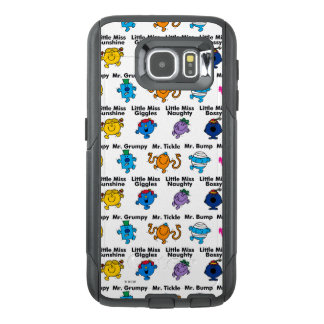 Mr Men & Little Miss | Character Names OtterBox Samsung Galaxy S6 Case