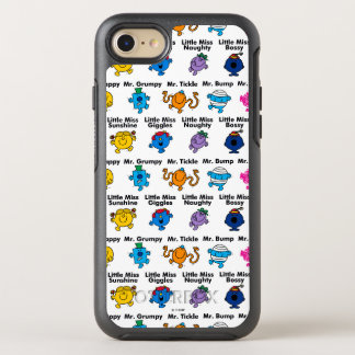 Mr Men & Little Miss | Character Names OtterBox Symmetry iPhone 8/7 Case