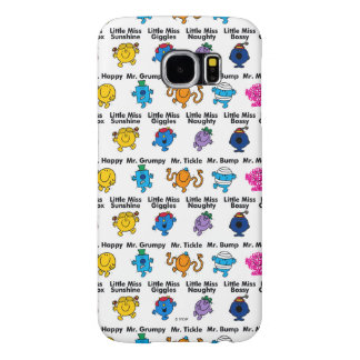 Mr Men & Little Miss   Character Names Samsung Galaxy S6 Cases