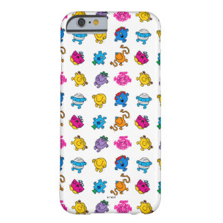 Mr Men & Little Miss | Dancing Neon Pattern Barely There iPhone 6 Case