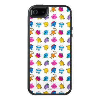 Mr Men & Little Miss | Dancing Neon Pattern OtterBox iPhone 5/5s/SE Case