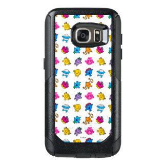 Mr Men & Little Miss   Dancing Neon Pattern OtterBox Samsung Galaxy S7 Case