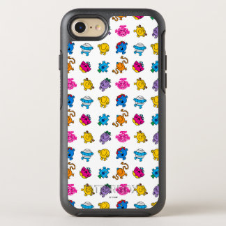 Mr Men & Little Miss   Dancing Neon Pattern OtterBox Symmetry iPhone 8/7 Case