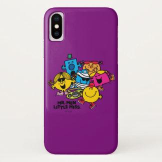 Mr. Men Little Miss Group iPhone X Case