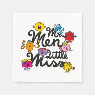 Mr. Men Little Miss | Group Logo Disposable Napkins