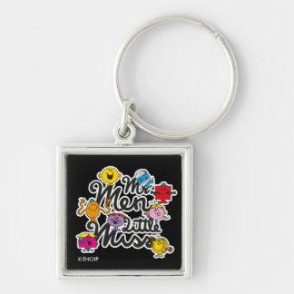 Mr. Men Little Miss | Group Logo Key Ring