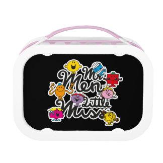 Mr. Men Little Miss | Group Logo Lunch Box