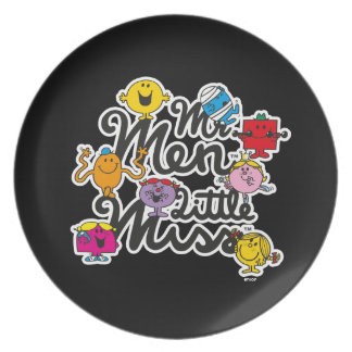 Mr. Men Little Miss | Group Logo Plate