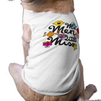 Mr. Men Little Miss | Group Logo Sleeveless Dog Shirt