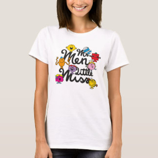 Mr. Men Little Miss   Group Logo T-Shirt