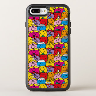Mr Men & Little Miss | In A Crowd Pattern OtterBox Symmetry iPhone 8 Plus/7 Plus Case
