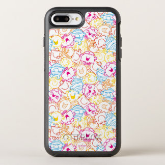 Mr Men & Little Miss | Neon Colors Pattern OtterBox Symmetry iPhone 8 Plus/7 Plus Case