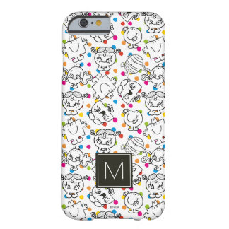 Mr Men & Little Miss | Rainbow Polka Dots Pattern Barely There iPhone 6 Case