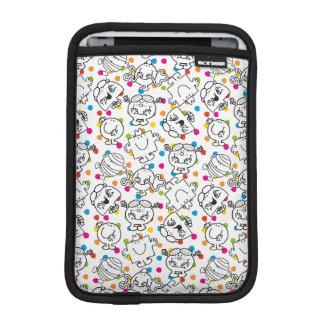 Mr Men & Little Miss | Rainbow Polka Dots Pattern iPad Mini Sleeve