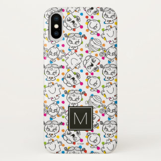 Mr Men & Little Miss | Rainbow Polka Dots Pattern iPhone X Case