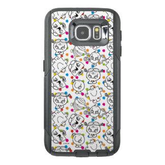 Mr Men & Little Miss | Rainbow Polka Dots Pattern OtterBox Samsung Galaxy S6 Case