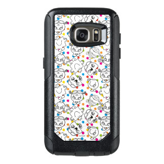 Mr Men & Little Miss | Rainbow Polka Dots Pattern OtterBox Samsung Galaxy S7 Case