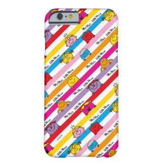 Mr Men & Little Miss | Rainbow Stripes Pattern Barely There iPhone 6 Case
