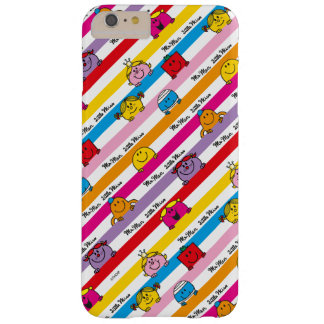 Mr Men & Little Miss | Rainbow Stripes Pattern Barely There iPhone 6 Plus Case