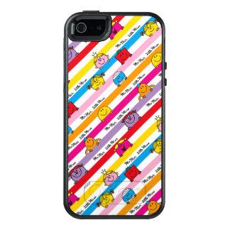 Mr Men & Little Miss | Rainbow Stripes Pattern OtterBox iPhone 5/5s/SE Case