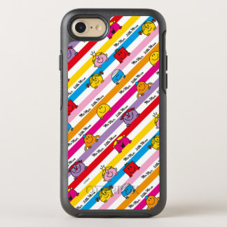 Mr Men & Little Miss | Rainbow Stripes Pattern OtterBox Symmetry iPhone 8/7 Case