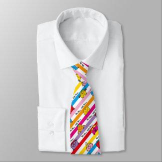 Mr Men & Little Miss | Rainbow Stripes Pattern Tie