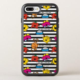 Mr Men & Little Miss | Stripes Pattern OtterBox Symmetry iPhone 8 Plus/7 Plus Case