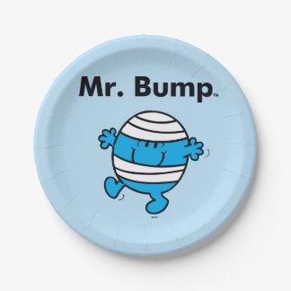 Mr. Men   Mr. Bump is a Clutz Paper Plate