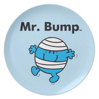 Mr. Men   Mr. Bump is a Clutz Party Plates