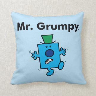 Mr. Men | Mr. Grumpy is a Grump Cushion