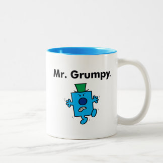 Mr. Men | Mr. Grumpy is a Grump Two-Tone Coffee Mug