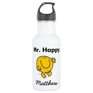 Mr. Men   Mr. Happy Is Always Happy 532 Ml Water Bottle