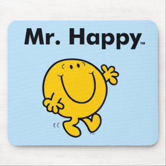 Mr. Men | Mr. Happy Is Always Happy Mouse Pad