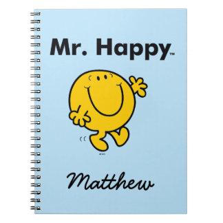 Mr. Men | Mr. Happy Is Always Happy Notebook