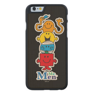 Mr. Men | Mr. Men Standing Tall Carved Maple iPhone 6 Case
