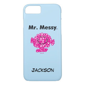 Mr. Men | Mr. Messy Is Cute, But Messy iPhone 8/7 Case
